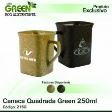 Caneca Quadrada Green