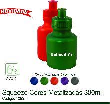Squeeze 300ml Cores Metalizadas
