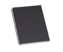 Caderno de Negocios Pequeno Preto