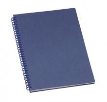 Caderno de Negocios Grande Azul